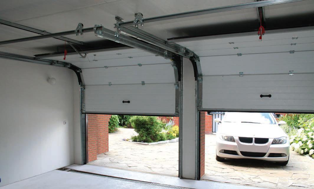 Автоматика для гаражных секционных ворот в Полтаве